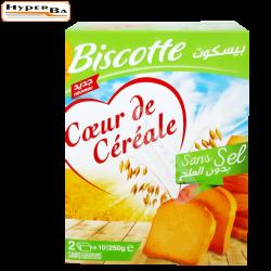 BISCCOTTES COEUR DE CEREALE...
