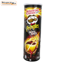 CHIPS PRINGLES HOT-SPICY...