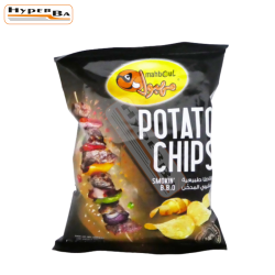 CHIPS MAHBOUL BBQ 18G-48