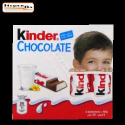 CHOCOLAT KINDER T4 50G