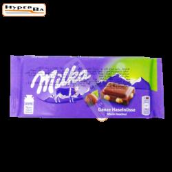 CHOCOLAT T MILKA NOISETTE...