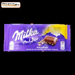 CHOCOLAT T MILKA RIZ...