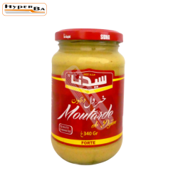 MOUTARDE SIDNA 340G-12