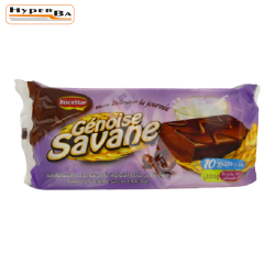 GENOISE SAVANE CHOCOLAT 10P-12