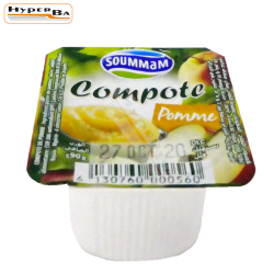 COMPOTE SOUMMAM POMME 90G