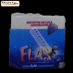 SERVIETTES DE TABLE FLAX 100P