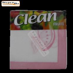 SERVIETTES DE TABLE CLEAN 90P