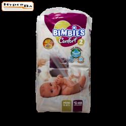 COUCHE BIMBIES MINI 3-6K 40P