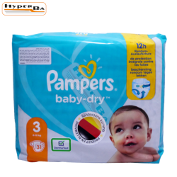 COUCHE PAMPERS 6-10KG 31P