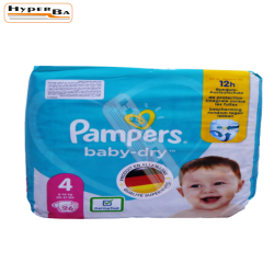 COUCHE PAMPERS 9-14KG 26P