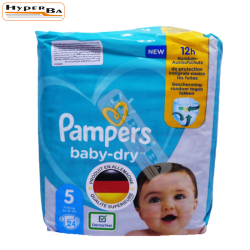 COUCHE PAMPERS 11-16KG 24P/4