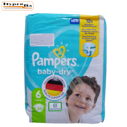 COUCHE PAMPERS 13-18KG 20P