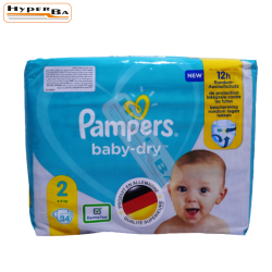 COUCHE PAMPERS 4-8KG 34P