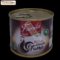 PATE VOLAILLE FUME FAMILA 200G