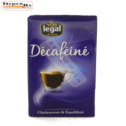 CAFE LEGAL DECAFEINE 250G-12