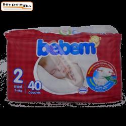 COUCHE BEBEM MINI 3-6K 40P-4